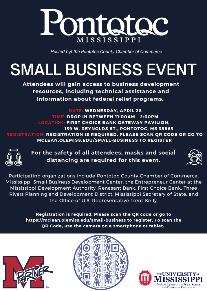 Pontotoc Small Business Event Pontotoc Mississippi