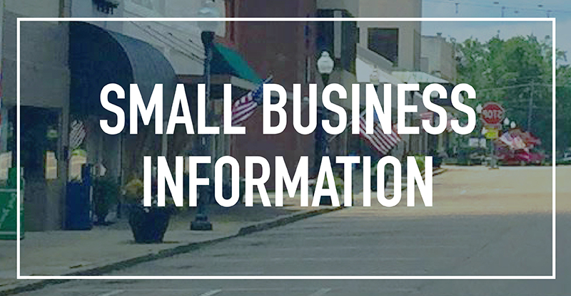 Small Business Information Pontotoc Chamber of Commerce Pontotoc MS